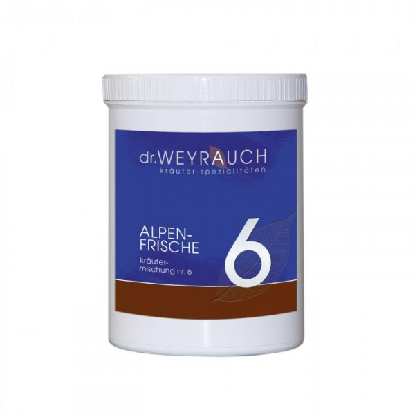 dr.WEYRAUCH Nr. 6 Alpenfrische