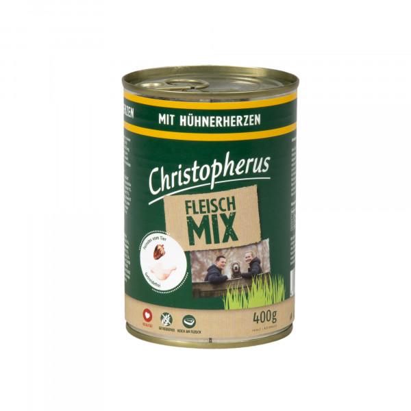 Christopherus FLEISCH MIX mit Hühnerherzen