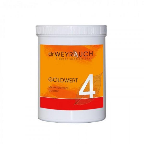 dr.WEYRAUCH Nr. 4 Goldwert