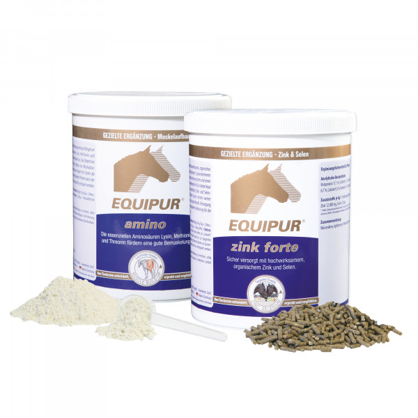 EQUIPUR-amino+zink forte-Set