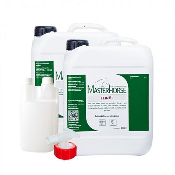 MASTERHORSE LEINÖL Aktion 2x 5 Liter