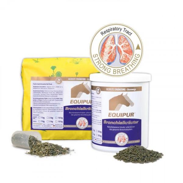 EQUIPUR-Bronchialkräuter pelletiert