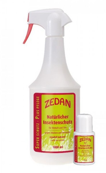 Zedan Super Plus Insektenschutz - 1l Insektenschutz + 75ml Rollstift