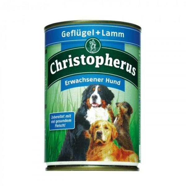 Christopherus Fleischmahlzeit - Geflügel & Lamm