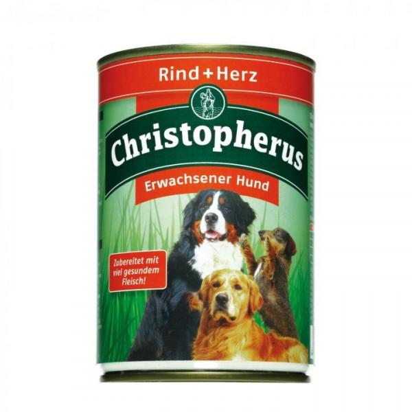 Christopherus Fleischmahlzeit - Rind & Herz